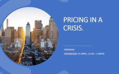 Pricing in a Crisis: How businesses should respond with their pricing during times of upheaval and uncertainty.
